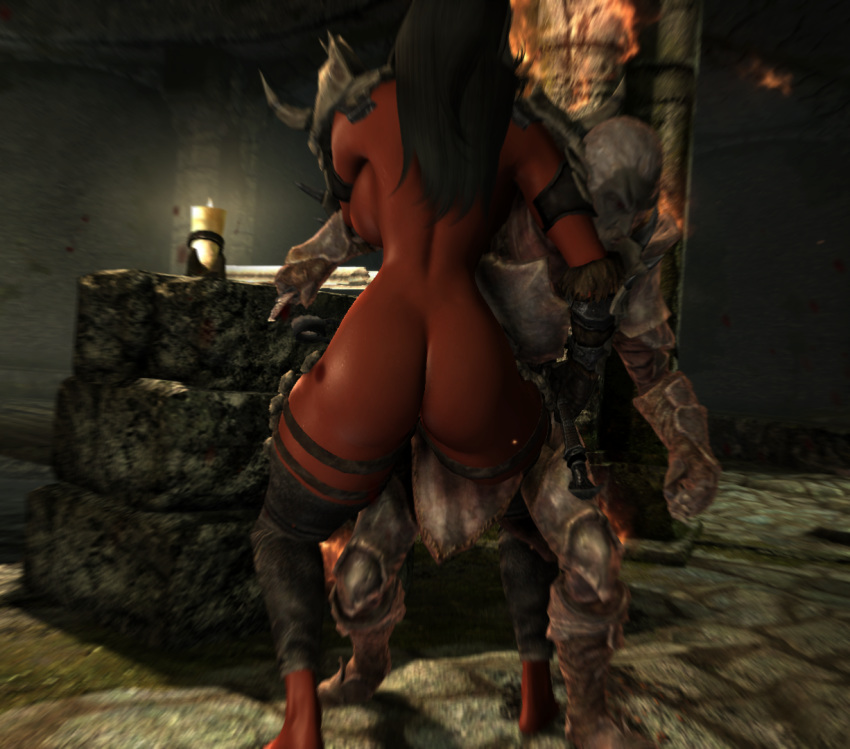 daedra demon_girl huge_ass huge_breasts skyrim