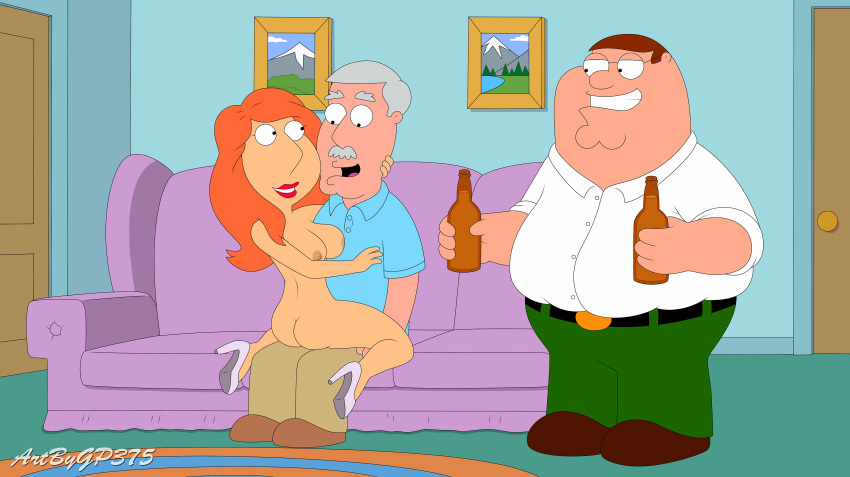 ass big_breasts carter_pewterschmidt family_guy father_&_daughter gp375_(artist) incest lois_griffin nude peter_griffin thighs