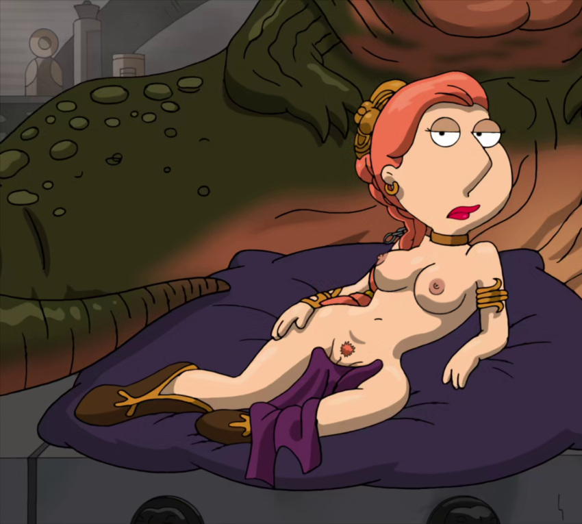 breasts erect_nipples family_guy frost969 lois_griffin nipples princess_leia_organa pussy star_wars