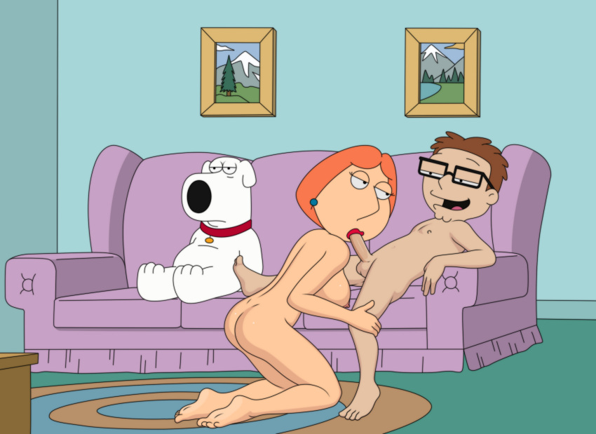 american_dad brian_griffin cocksucking family_guy lois_griffin sfan sfan_(artist) steve_smith