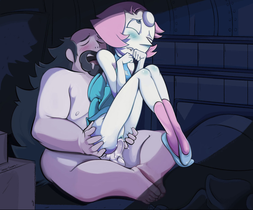 blush fucked fucked_silly greg_universe pearl pussy pussy_juice steven_universe van