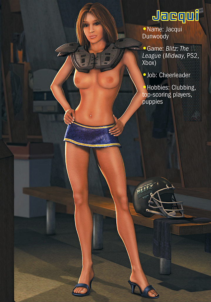 Teen boy playboy girls of video games nude