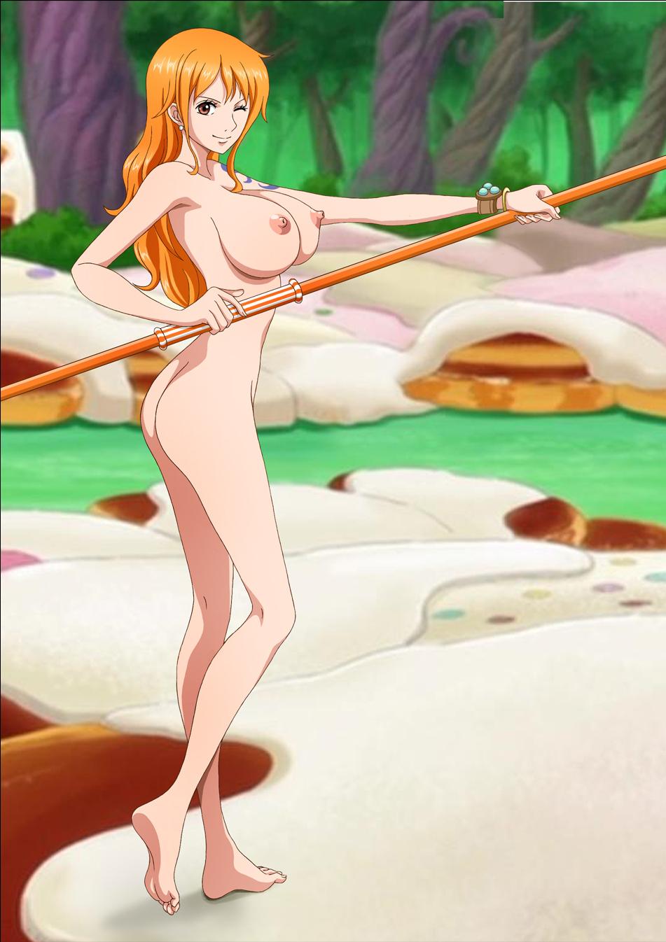 Nude one piece rebecca hentai