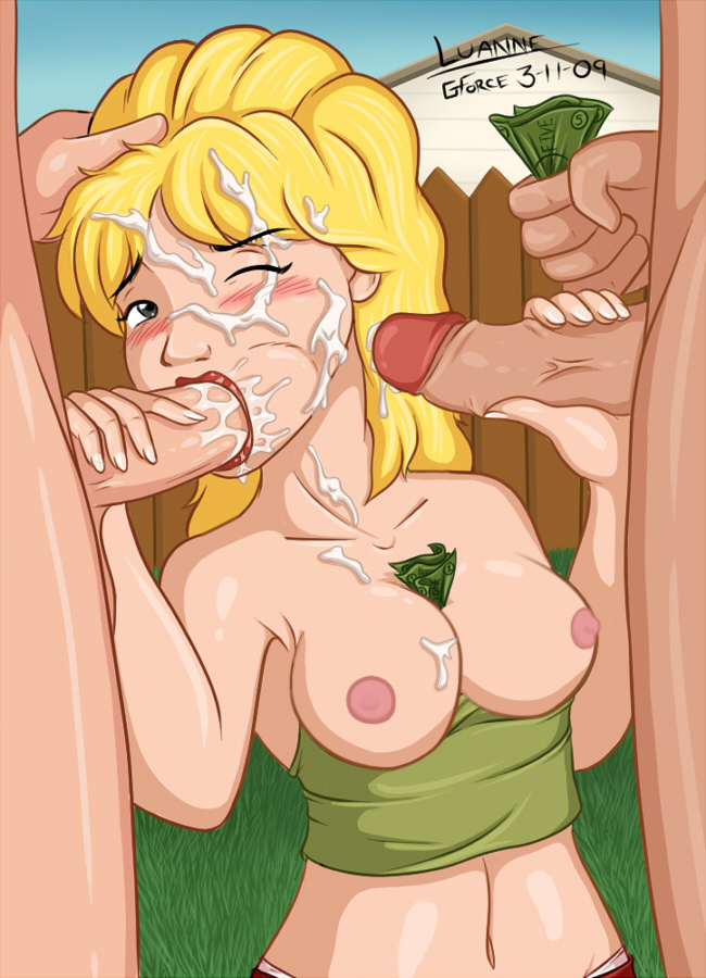 Nude king of the hill blowjob girl tit