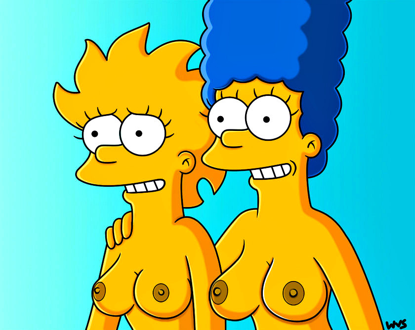 The simpsons naked and nude — photo 1