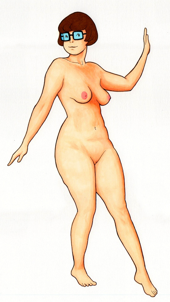nude-in-scooby-doo-retro-panties-spank
