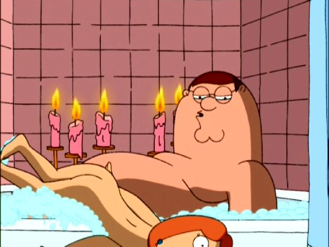 Peter griffin gets naked