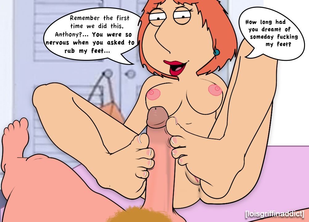 lois griffin nude feet