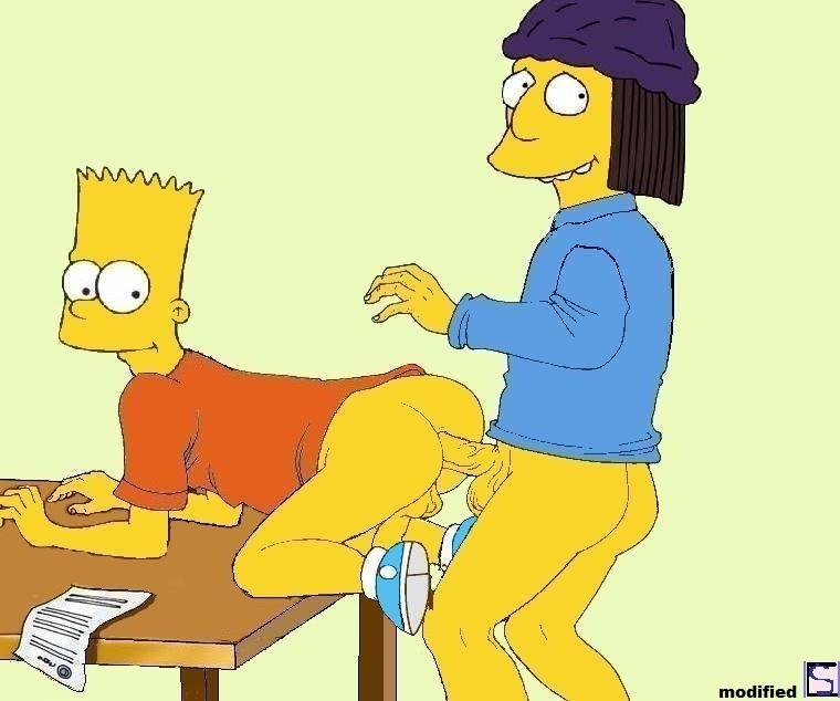 The simpson bart gives lisa footjob porn