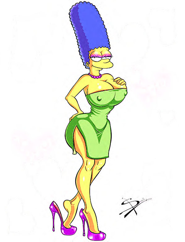 marge-simpson-naked-tram-stopped-young-girls-mooning