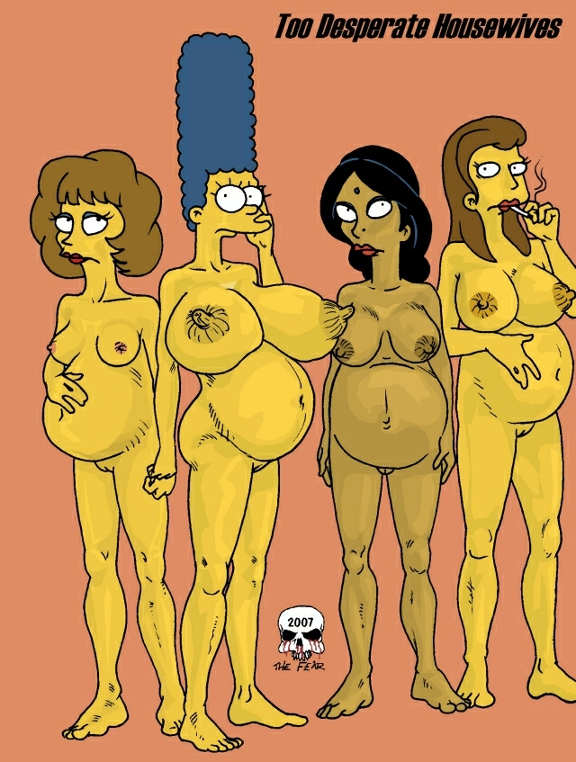 Marge pregnant nude #14