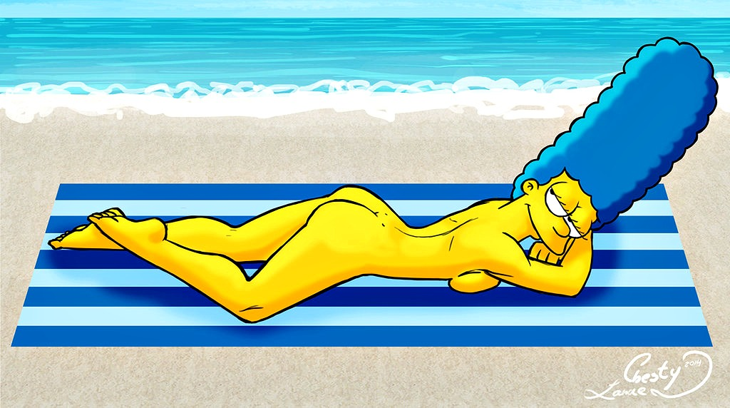 The simpsons irls characters horney nude — pic 7