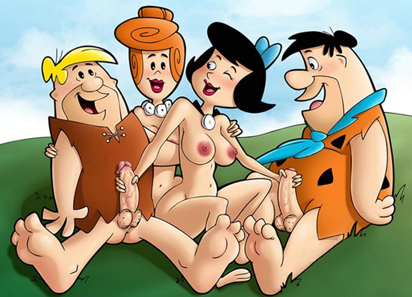 Pebbles flintstone porn cartoon