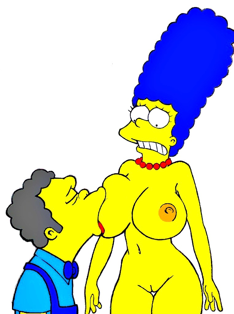 Marge simpson naked tram stopped, cute sexy nipples