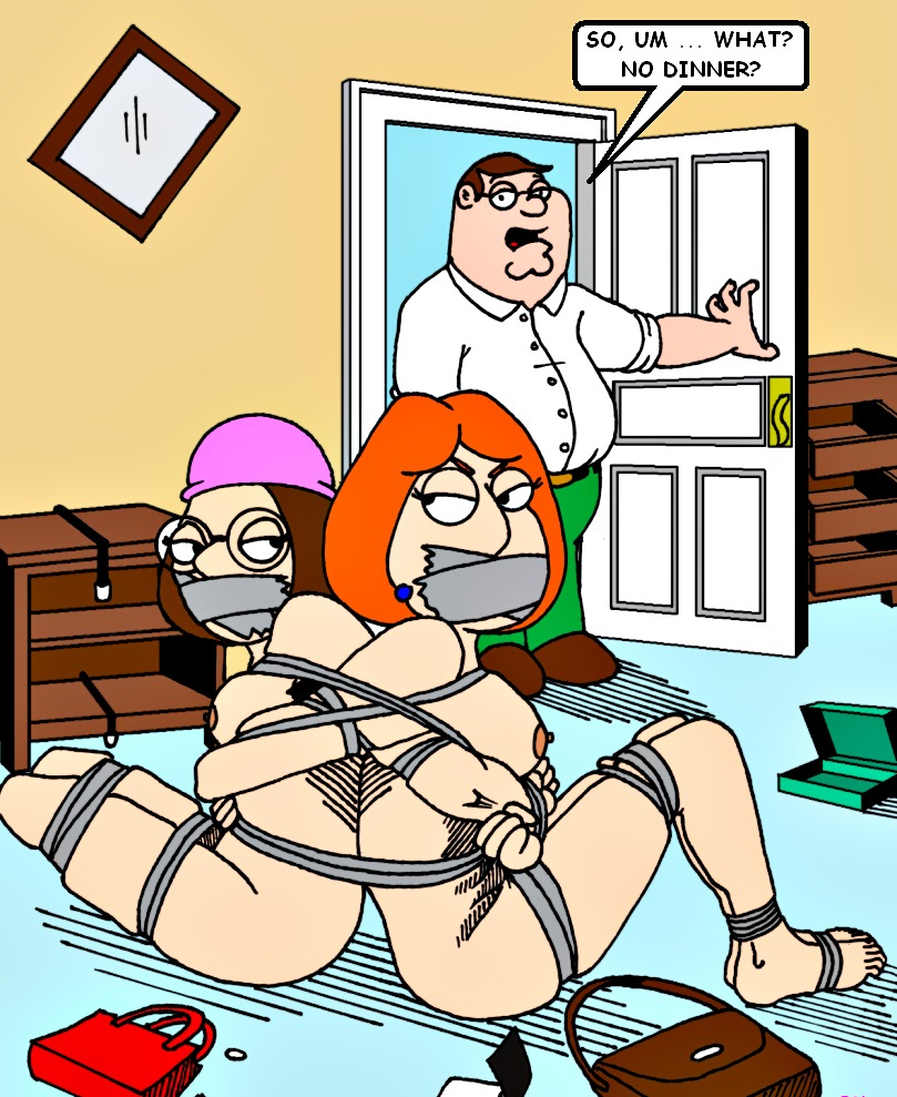 Can ask Meg griffin tied up naked apologise