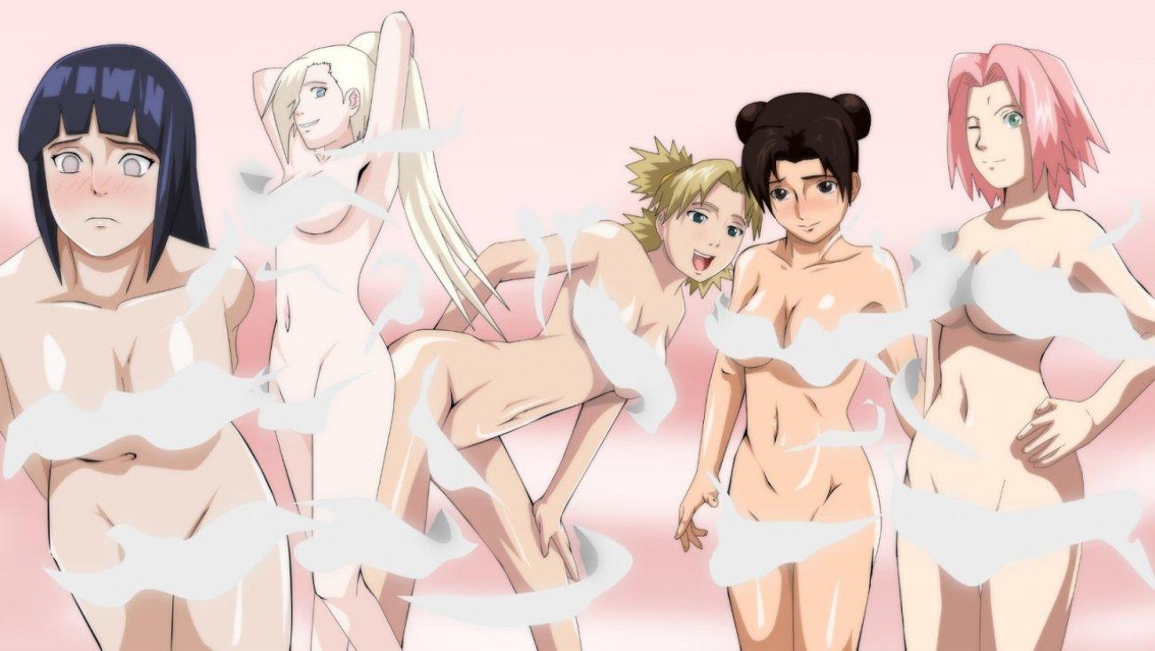 Sexy naruto girls hentia — photo 2