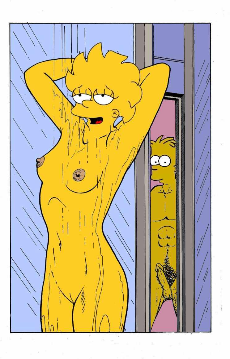 Lisa simpson nude shower 15