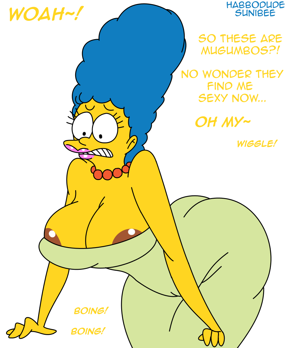 Marge simpson breast expansion