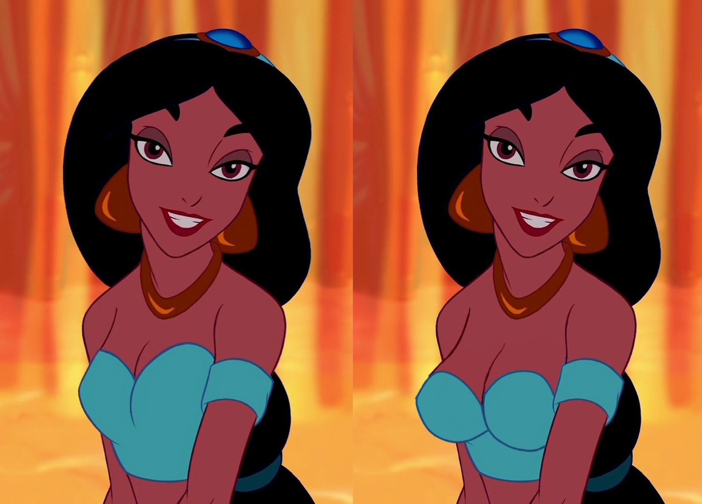 Xbooru - aladdin (series) disney edit princess jasmine
