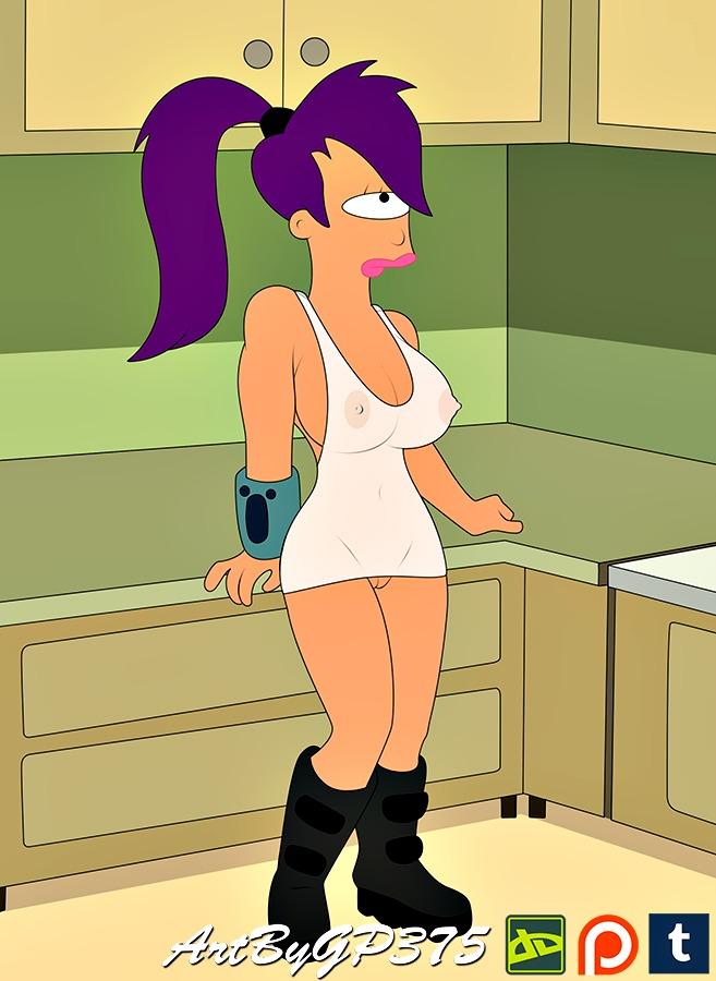 futurama-nue-girl-hot-abs-cowgirl