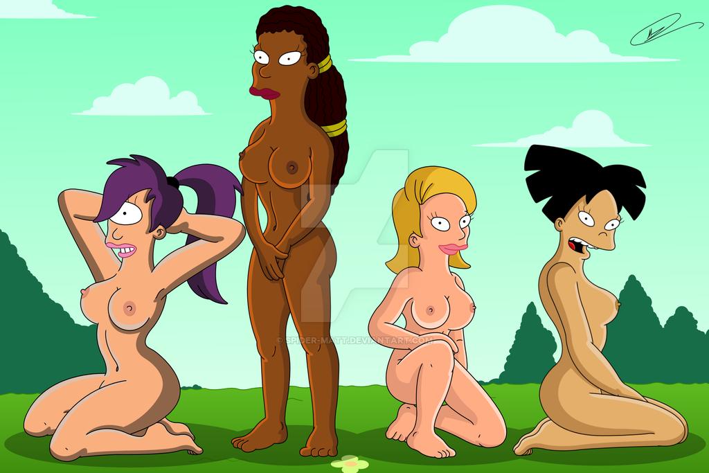 Futurama michelle naked