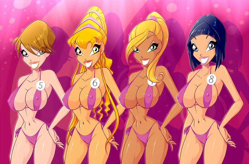 The girls on the winx club naked
