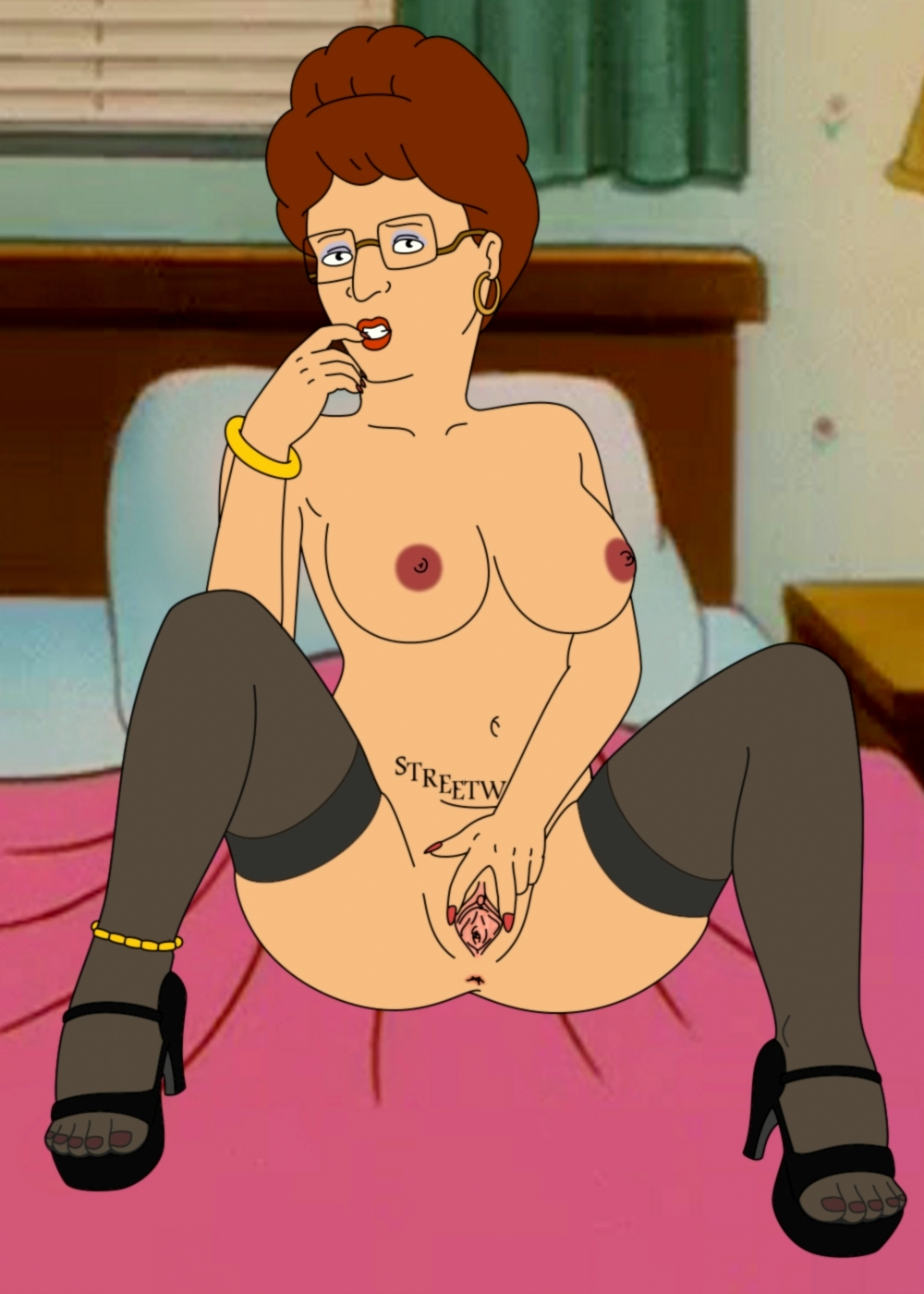 King of the hill peggy porn — 4