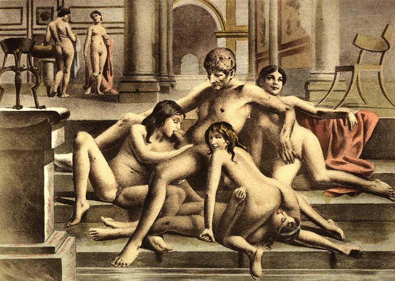 посетители, находящиеся средневековье был ли минет желательно чтобы папа
