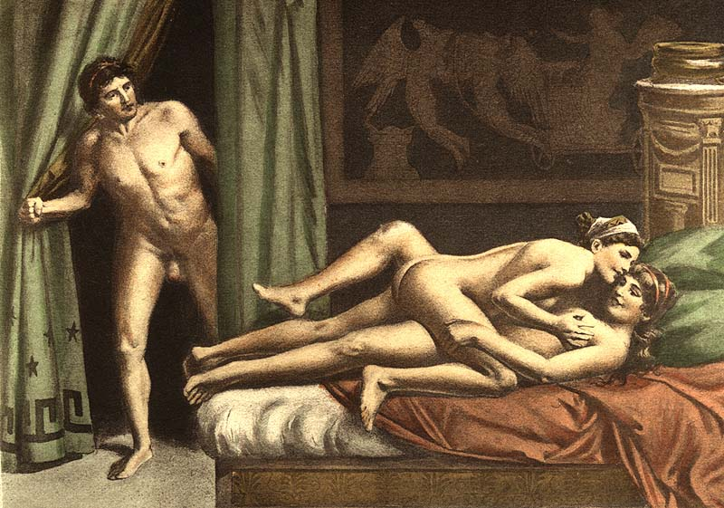Секс с ней картина первая