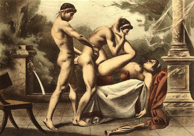 домике было видео секс оргии древней греции садится диван