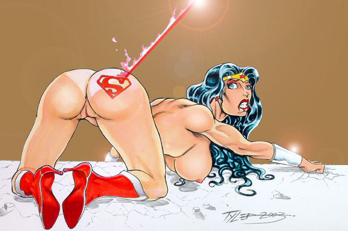 Wonder woman nude ass bra and