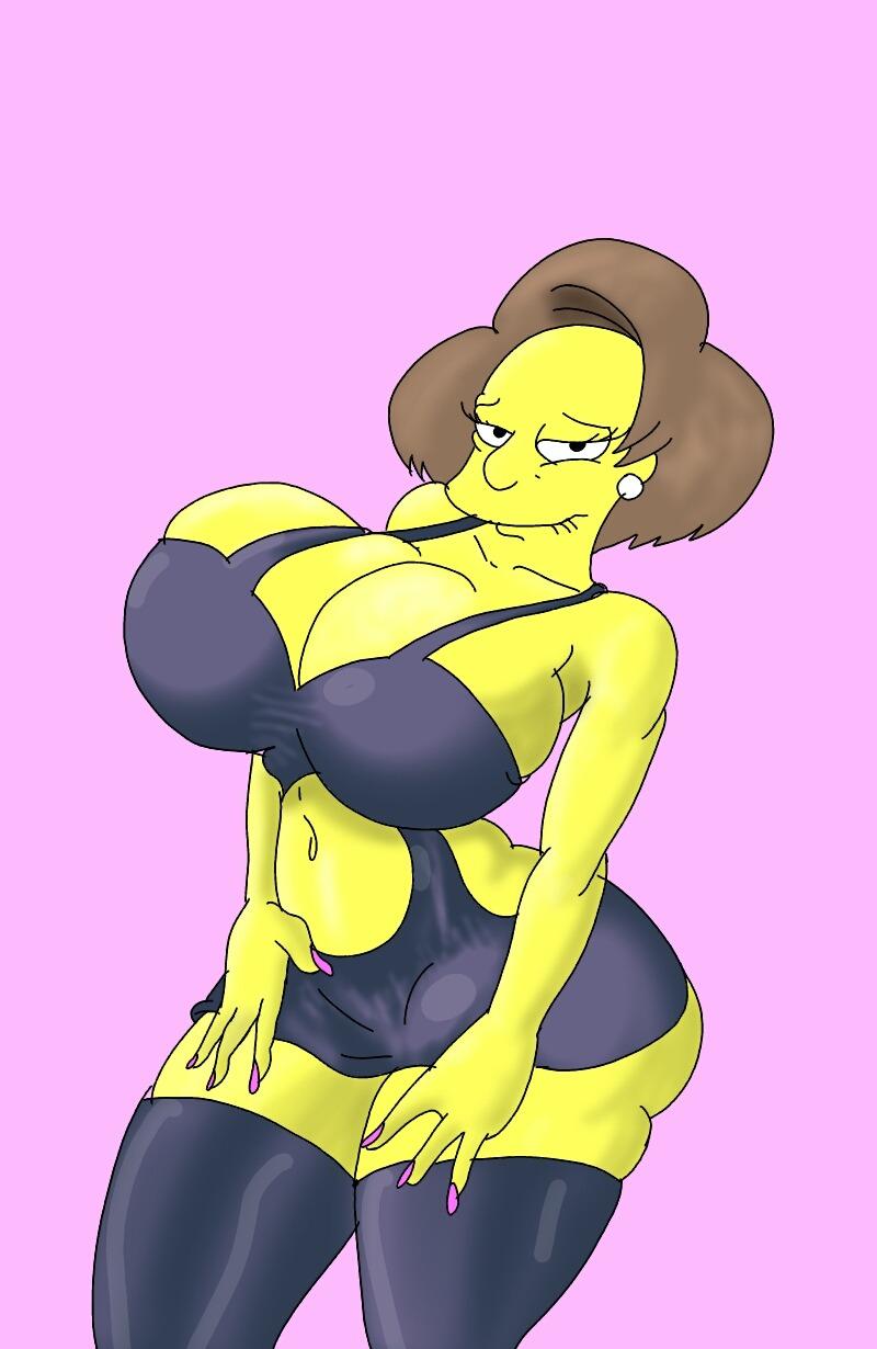 Mrs krabappel tits