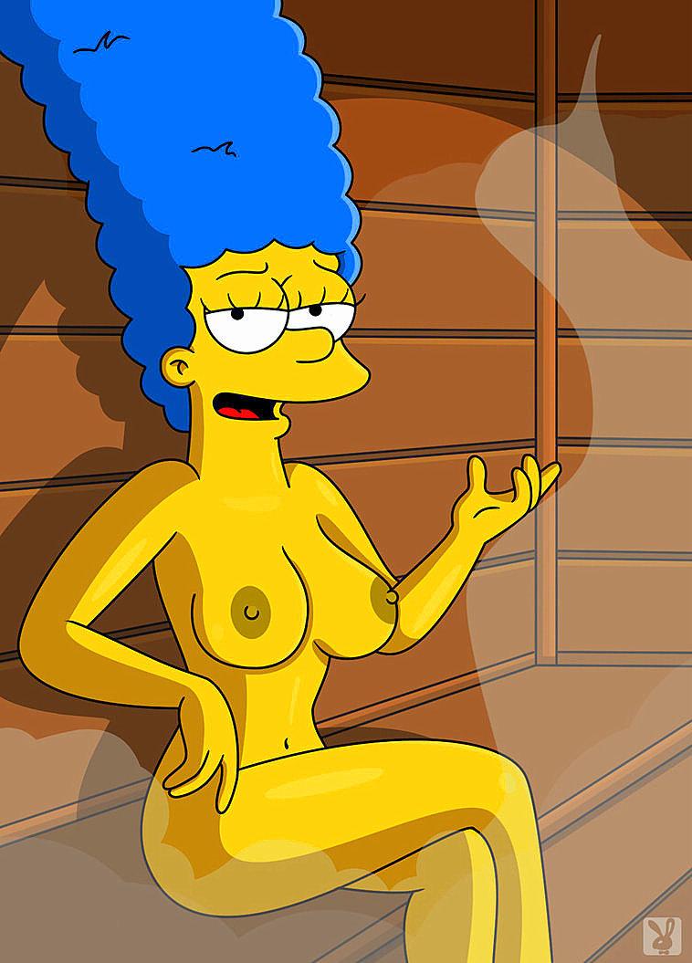 Bilder marge simpson von nackt Simpsons Porno