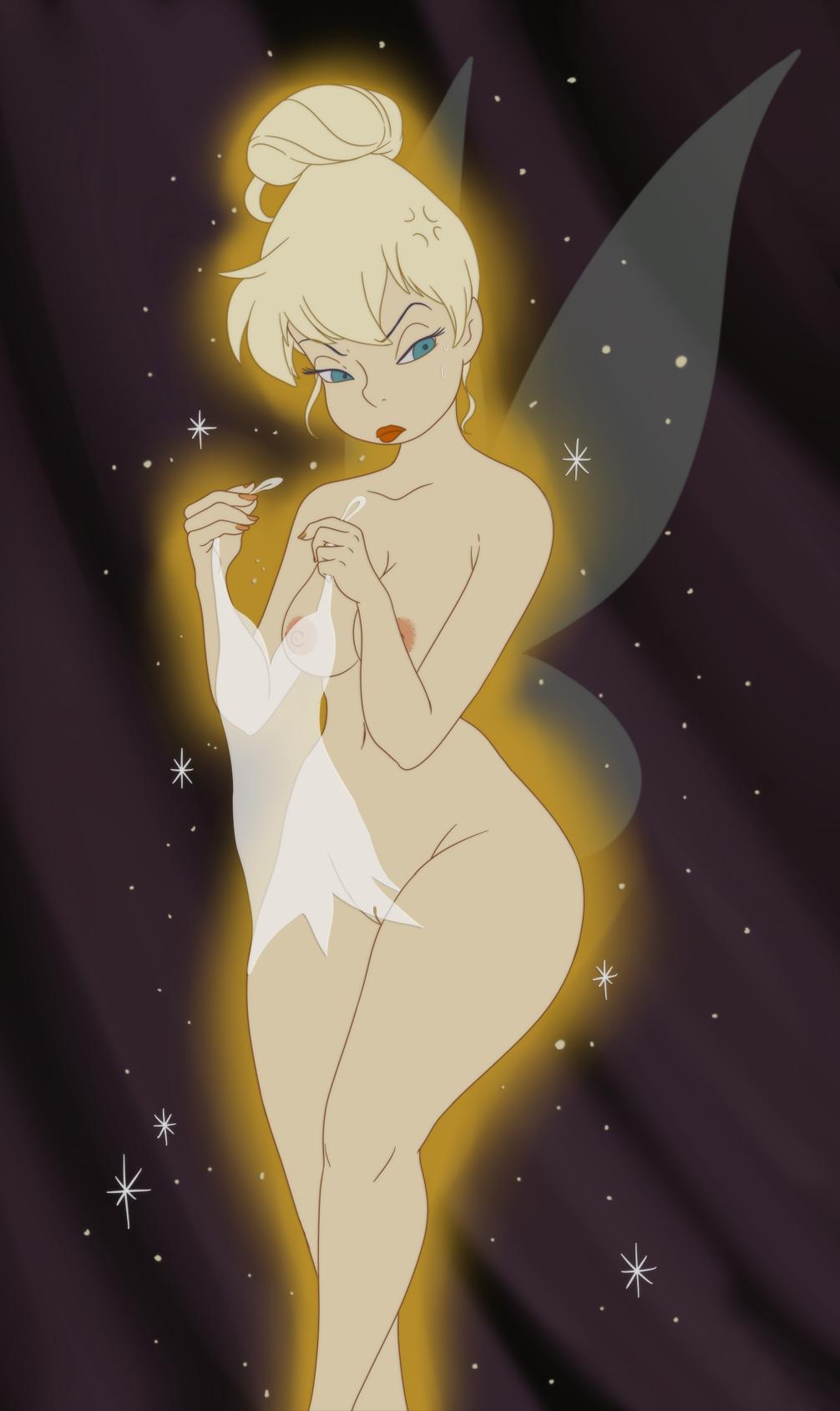 Tinkerbell naked butt