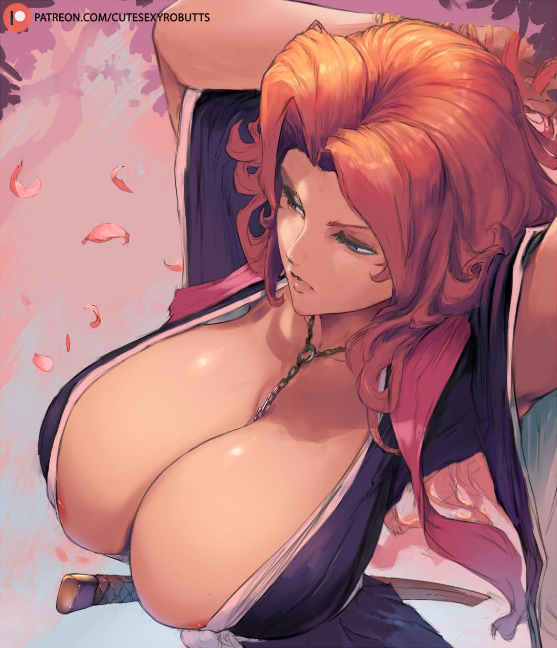 rangiku s boobs nude