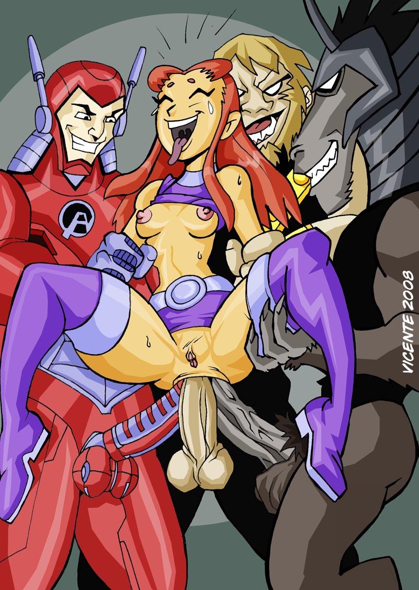 Teen titans porns