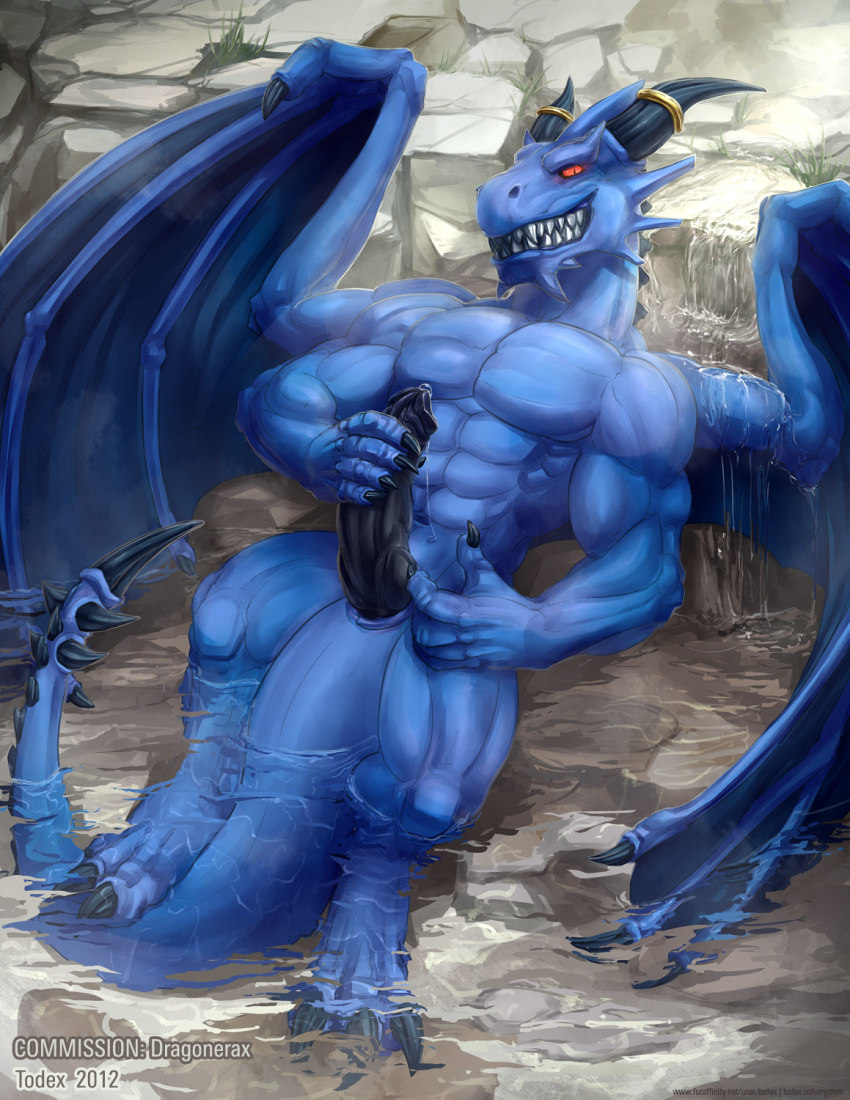 Blue dragon naked picture real — photo 14