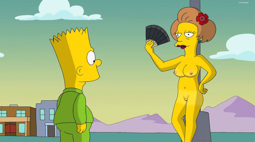 Extreme porn simpsons naked teacher pica