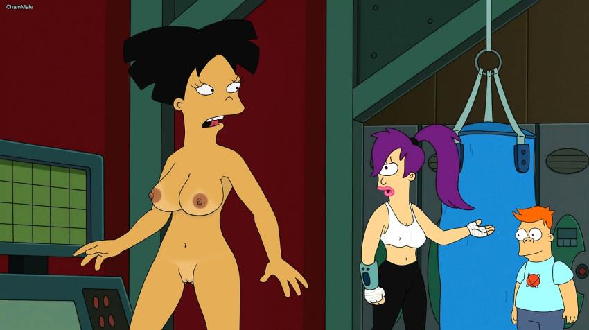 Futurama girl tits milf pussy