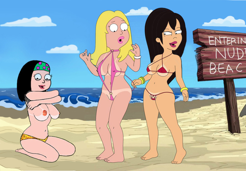 Congratulate, american dad francine and gina pity, that