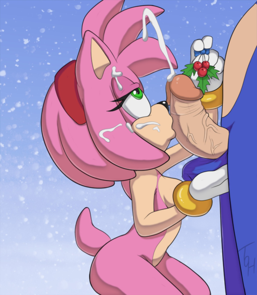 Sonic and amy sex cum mom caught