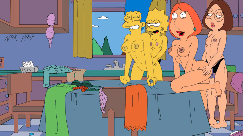 Family guy and the simpsons porn — pic 13