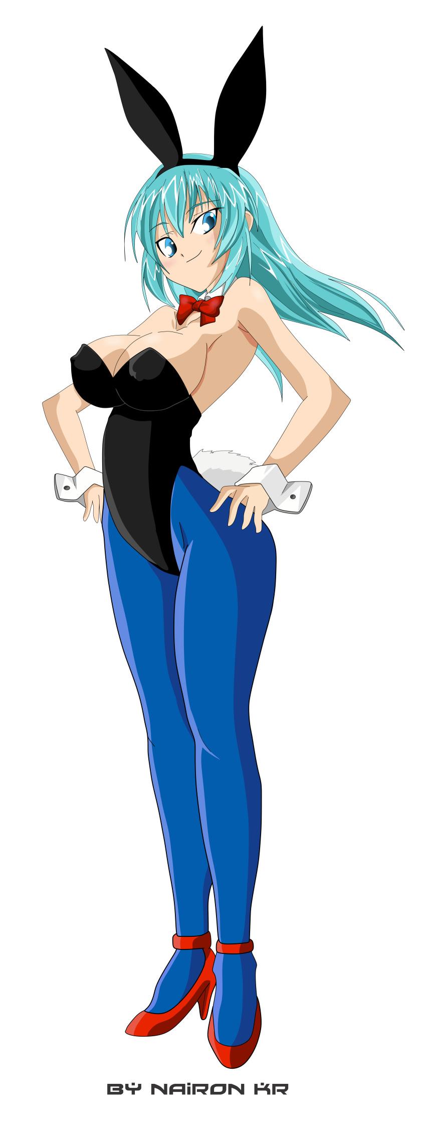 Xbooru - 1girl big breasts blue eyes blue hair breasts bulma bulma* bulma brief bulma briefs ...