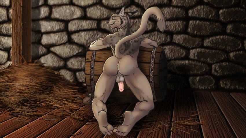 Elder scrolls porn khajiit animation