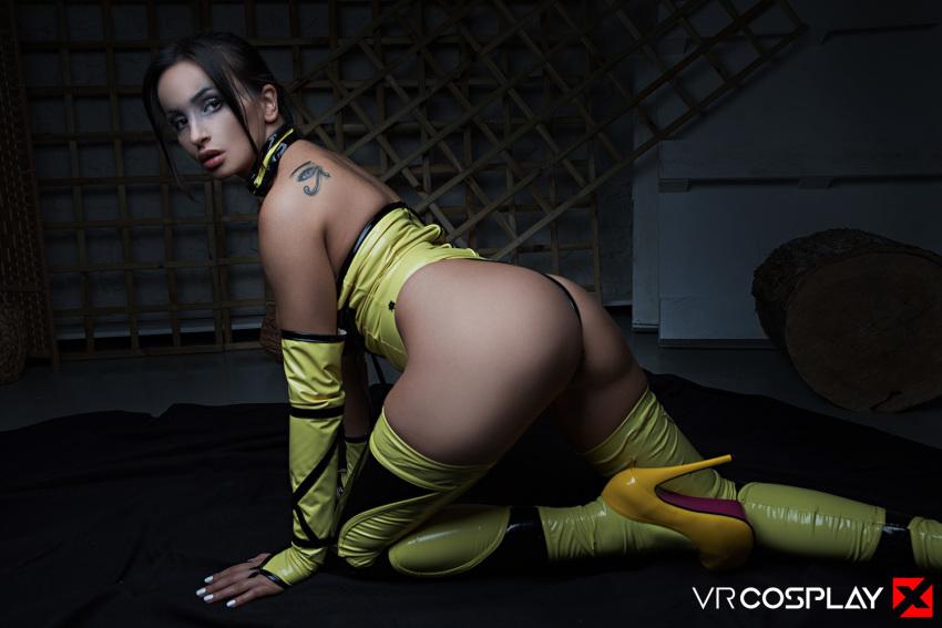 Vrcosplayx Mortal Kombat Parody Letmejerk 1