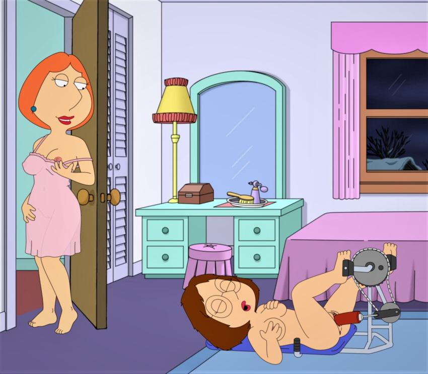 Meg naked off of family guy