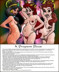 aladdin_(series) beauty_and_the_beast col_kink crossover disney pregnant princess_ariel princess_belle princess_jasmine the_little_mermaid rating:Explicit score:11 user:mmay