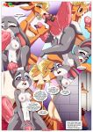 disney gazelle judy_hopps nick_wilde palcomix palcomix zootopia rating:Explicit score:3 user:losttapes219