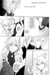 cloud_strife comic crossdressing dress final_fantasy final_fantasy_vii gay girly honey_bunny monochrome sephiroth yaoi rating:Questionable score:1 user:unknowmoney23