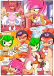 3girls amy_rose cosmo_the_seedrian mobian_hooters_(sonic_the_hedgehog) mobius_unleashed palcomix sega shade_the_echidna sonic_(series) rating:Explicit score:7 user:Christianmar762